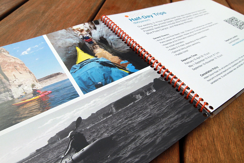 Hidden Canyon Kayak Marketing Booklet