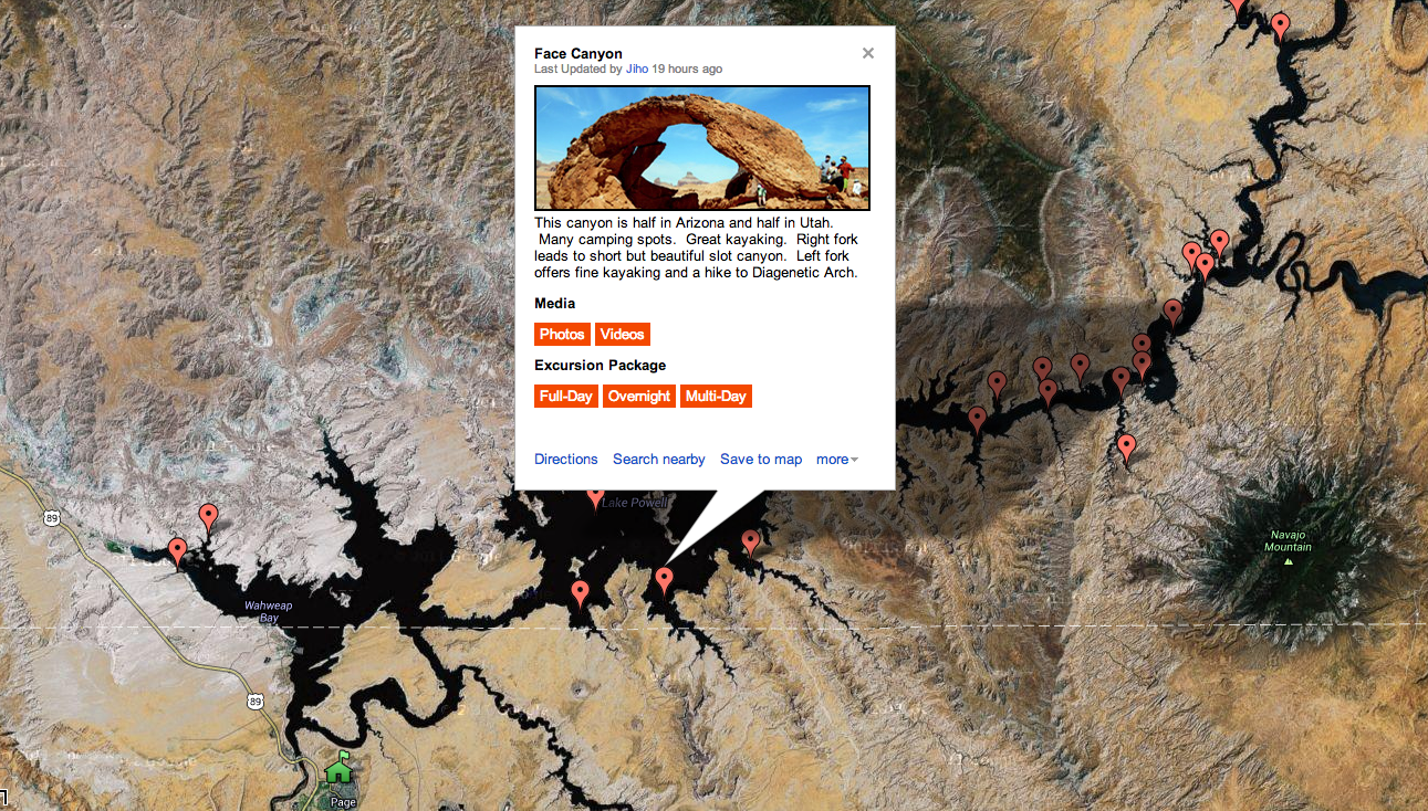 jihonation-google-map-hidden-canyon-kayak-lake-powell